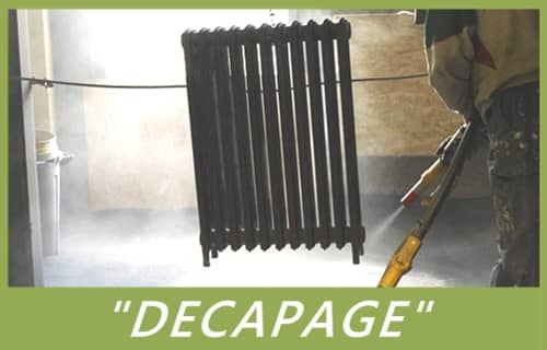 renovation radiateur fonte