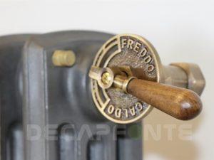 radiateur fonte manette